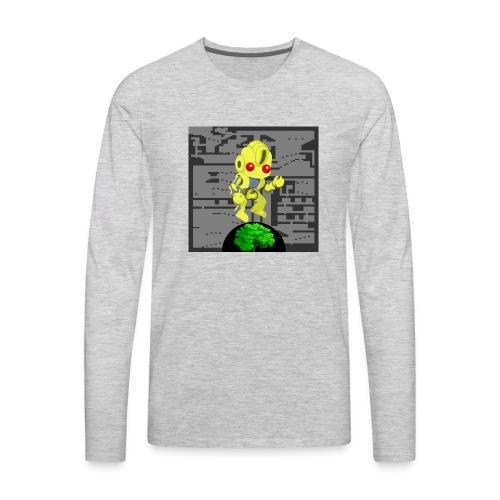 Hollow Earth Mug - Men's Premium Long Sleeve T-Shirt