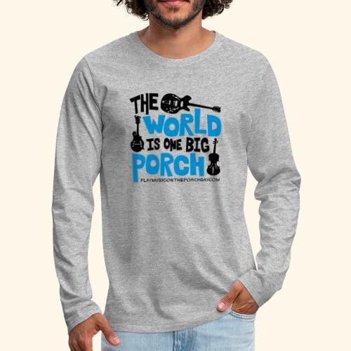 BIG_PORCH - Men's Premium Long Sleeve T-Shirt
