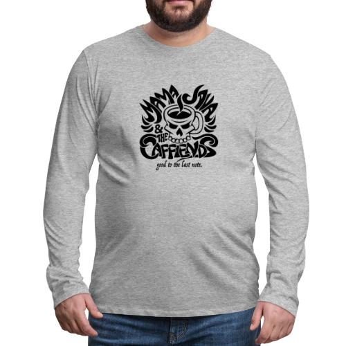 Mama Java & The Caffeinds Rock Band - Men's Premium Long Sleeve T-Shirt