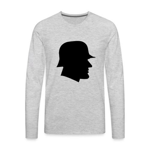 Soldier silhouette - Men's Premium Long Sleeve T-Shirt