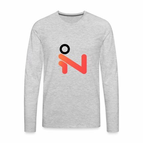 iLogo Black - Men's Premium Long Sleeve T-Shirt