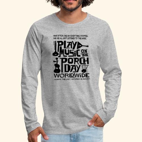 PMOTPD2021 SHIRT - Men's Premium Long Sleeve T-Shirt