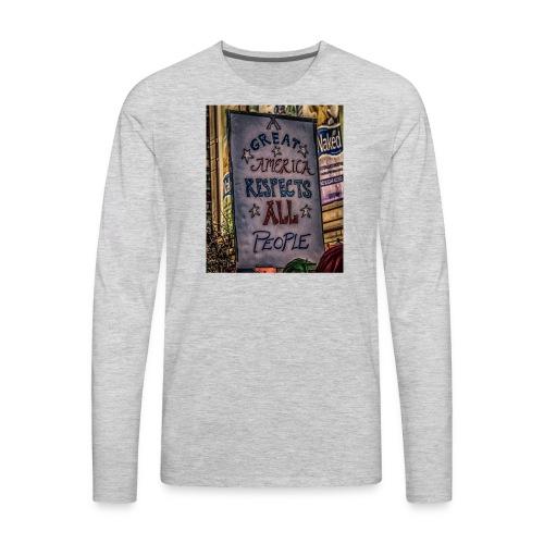 A Great America - Men's Premium Long Sleeve T-Shirt