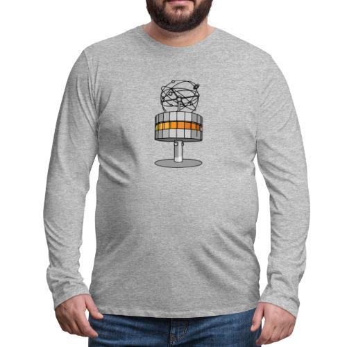 World time clock Berlin - Men's Premium Long Sleeve T-Shirt