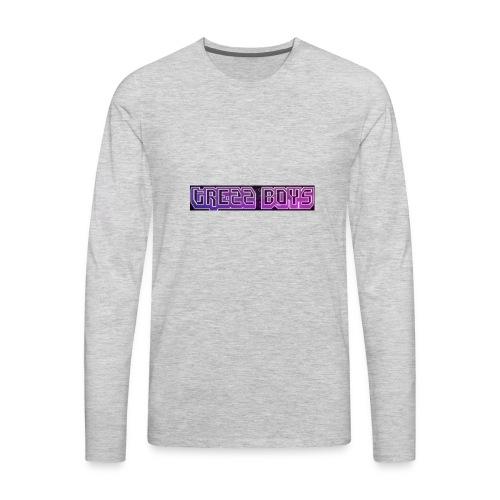 Trezz boys men's sweater - Men's Premium Long Sleeve T-Shirt