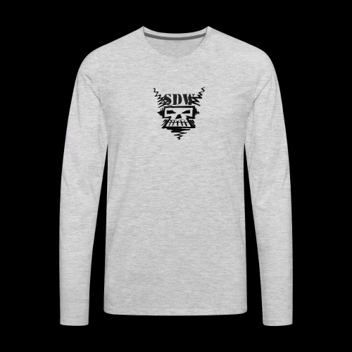 SDW Skull Small - Men's Premium Long Sleeve T-Shirt