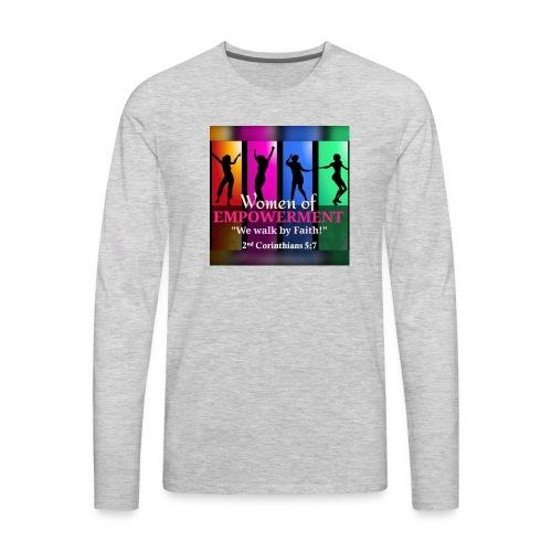Woman Of Empowerment - Men's Premium Long Sleeve T-Shirt