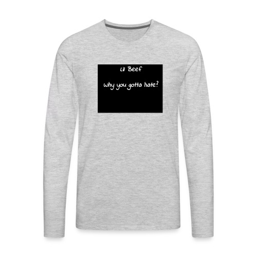 Merchandise - Men's Premium Long Sleeve T-Shirt