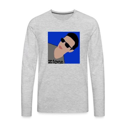 Zionz_Cartoon - Men's Premium Long Sleeve T-Shirt