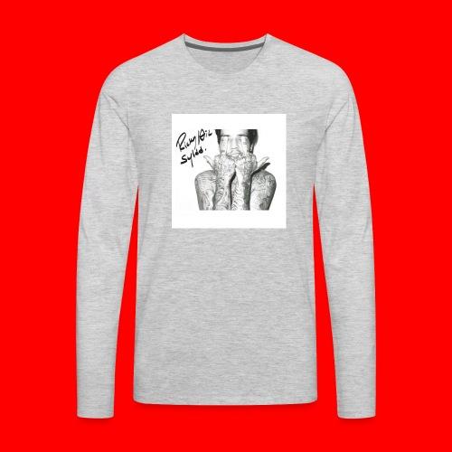Ricky Hil SYLDD The Weeknd - Men's Premium Long Sleeve T-Shirt