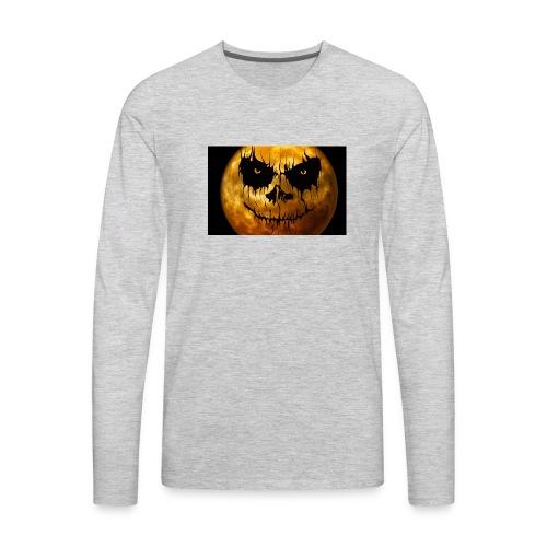 moon for halloween - Men's Premium Long Sleeve T-Shirt