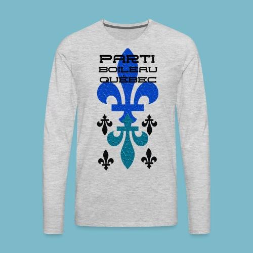 party boileau 9 - Men's Premium Long Sleeve T-Shirt