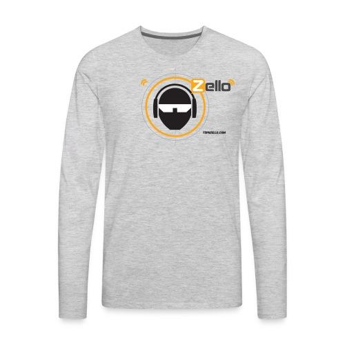 TSP Zello Logo - Men's Premium Long Sleeve T-Shirt