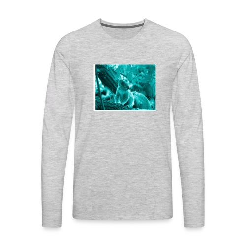 shady koala - Men's Premium Long Sleeve T-Shirt