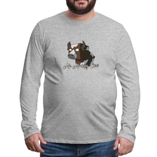 cow1 png - Men's Premium Long Sleeve T-Shirt