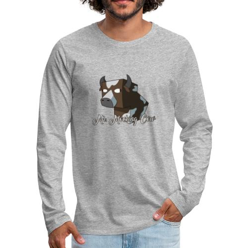 cow1 png - Men's Premium Long Sleeve T-Shirt