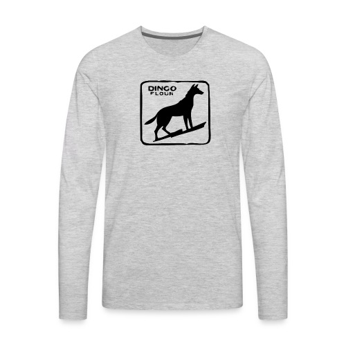 Dingo Flour - Men's Premium Long Sleeve T-Shirt
