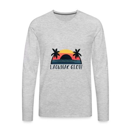 Palms Sunset - Men's Premium Long Sleeve T-Shirt
