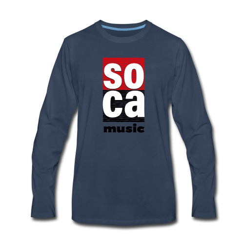 Soca music - Men's Premium Long Sleeve T-Shirt
