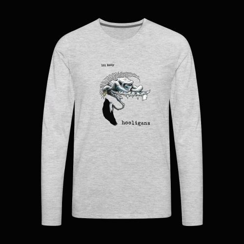 Lou Kelly - Hooligans Album Cover - Men's Premium Long Sleeve T-Shirt