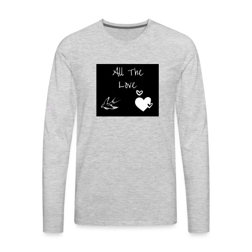 H Styles All The Love - Men's Premium Long Sleeve T-Shirt