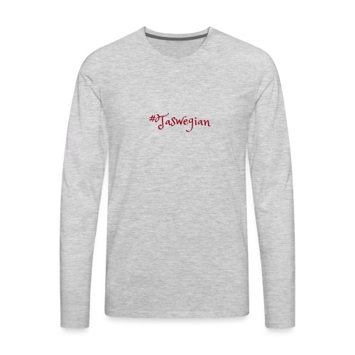Taswegian Red - Men's Premium Long Sleeve T-Shirt
