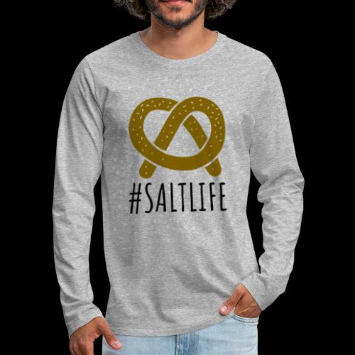 #SaltLife | Pretzel - Men's Premium Long Sleeve T-Shirt