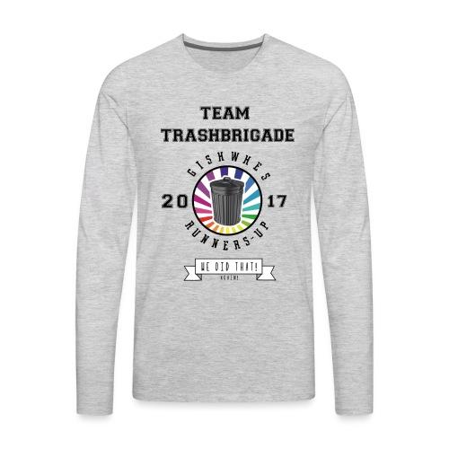 TrashBrigade 2017 - Men's Premium Long Sleeve T-Shirt