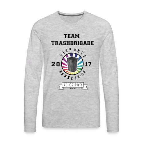 TrashBrigade 2017 - Men's Premium Long Sleeve T-Shirt
