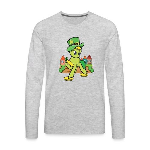 Irish Lucky Pony - Men's Premium Long Sleeve T-Shirt