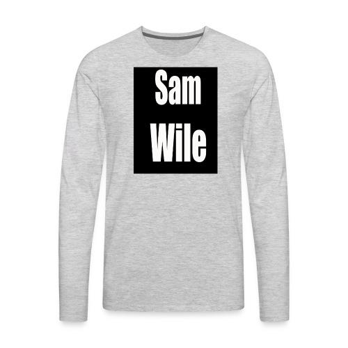 samlogo - Men's Premium Long Sleeve T-Shirt