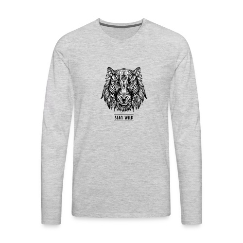 Stay Wild - Men's Premium Long Sleeve T-Shirt
