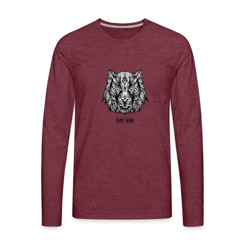Stay Wild - Men's Premium Long Sleeve T-Shirt