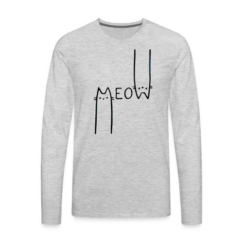 Citizen Meow - Men's Premium Long Sleeve T-Shirt