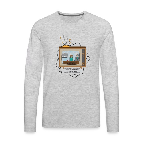 fakenews - Men's Premium Long Sleeve T-Shirt