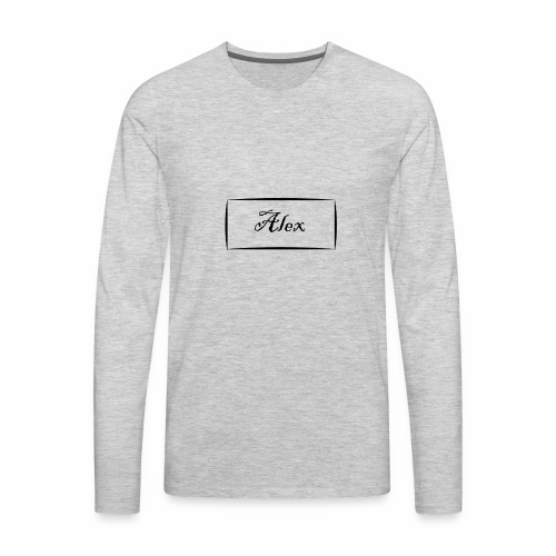 Alex - Men's Premium Long Sleeve T-Shirt