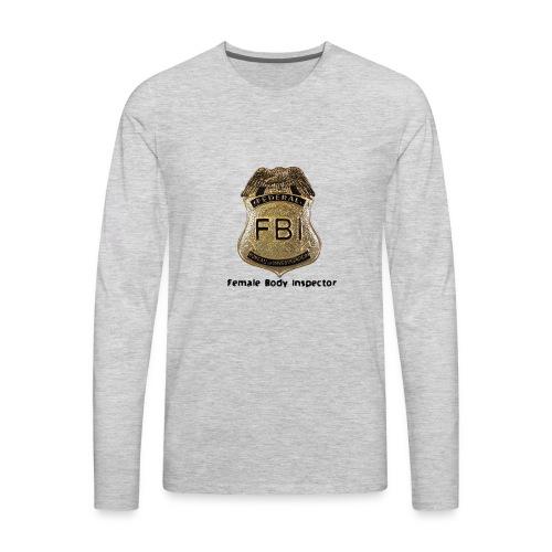 FBI Acronym - Men's Premium Long Sleeve T-Shirt