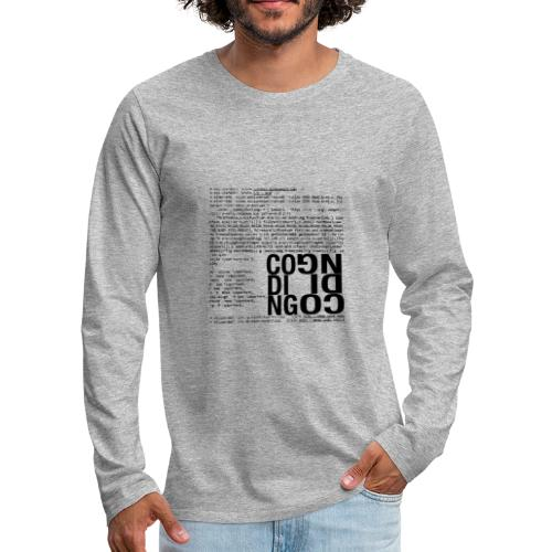 Coding - Men's Premium Long Sleeve T-Shirt