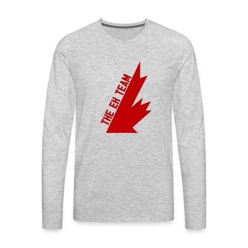 The Eh Team Red - Men's Premium Long Sleeve T-Shirt