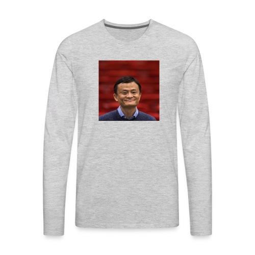 Dylantoapickle logo - Men's Premium Long Sleeve T-Shirt
