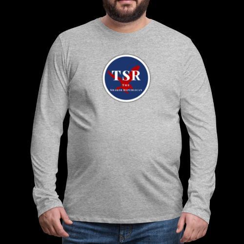 The Shaker Republican - Men's Premium Long Sleeve T-Shirt