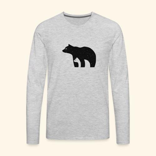 polar bear - Men's Premium Long Sleeve T-Shirt