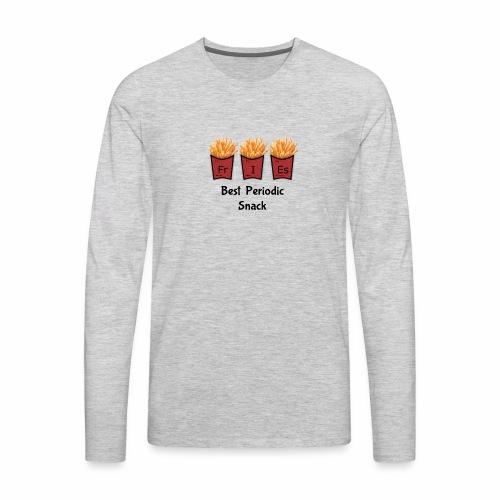 Best Periodic Snack - Men's Premium Long Sleeve T-Shirt
