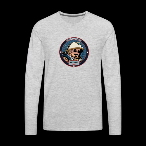Spaceboy - Space Cadet Badge - Men's Premium Long Sleeve T-Shirt