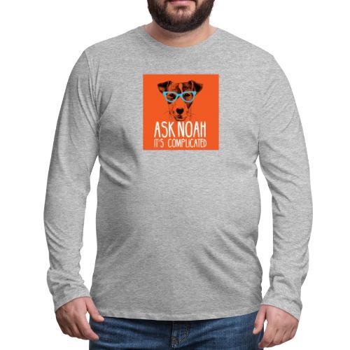 Ask Noah Christian Funk - Men's Premium Long Sleeve T-Shirt