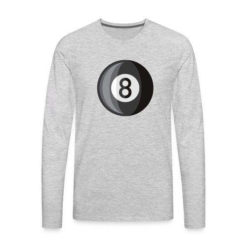 8 Ball - Men's Premium Long Sleeve T-Shirt