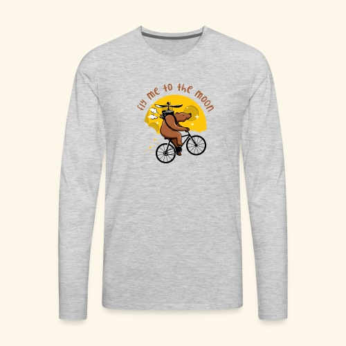 Fly me to the Moon - Men's Premium Long Sleeve T-Shirt
