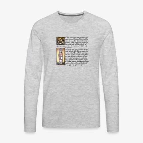 Holy Hand Grenade of Antioch - Men's Premium Long Sleeve T-Shirt
