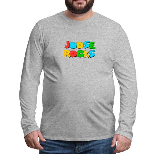 Super Joose Rocks - Men's Premium Long Sleeve T-Shirt