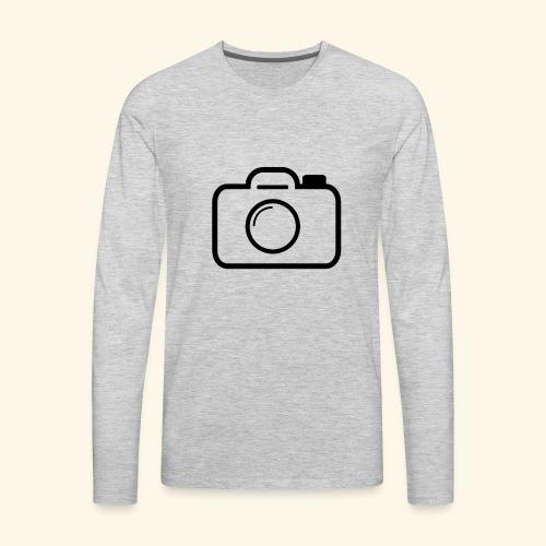 Camera - Men's Premium Long Sleeve T-Shirt